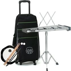 Mapex MPK32PC Backpack Percussion Kit with Integrated Roller Bag