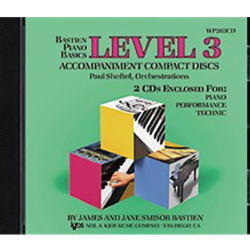 Bastien Piano Basics: Accompaniment CDs - Level 3 Complete