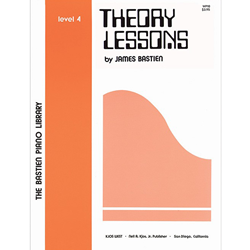 Bastien Library Piano Theory Lessons - Level 4