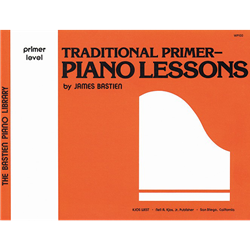 Bastien Piano Library Traditional Primer - Piano Lessons