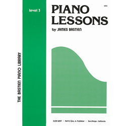 Bastien Library Piano Lessons - Level 3