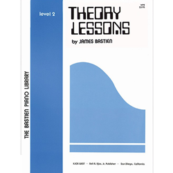 Bastien Library Piano Theory Lessons - Level 2