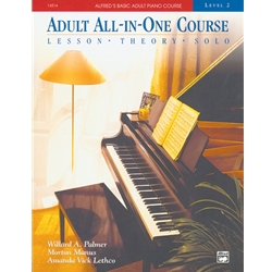 Alfred's Basic Adult All-in-one Book 2