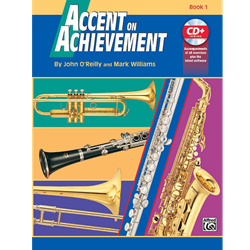 Accent on Achievement Book 1 - Alto Clarinet