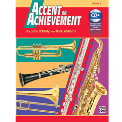 Accent on Achievements Book 2 - Alto Clarinet