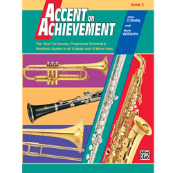 Accent on Achievements Book 3 - Alto Sax