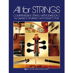 All For Strings Book 2 String Bass