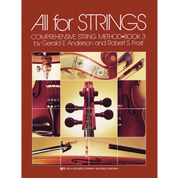 All For Strings Book 3 String Bass