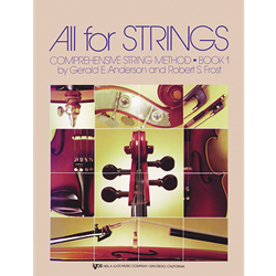 All For Strings Book 1 Piano Accompaniment