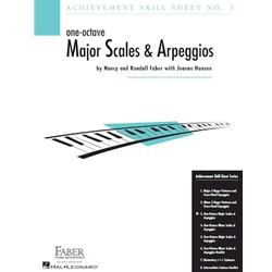 Achievement Skill Sheet 3 One Octave Major Scales and Arpeggios
