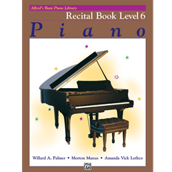 Alfred's Basic Piano Library Recital 6