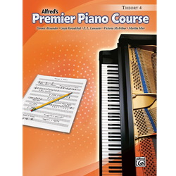 Alfred's Premier Piano Course, Theory 4