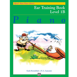 Alfred's Basic Piano Library Ear Training 1B
