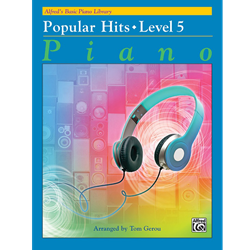 Alfred's Basic Piano Library Popular Hits, Book 5