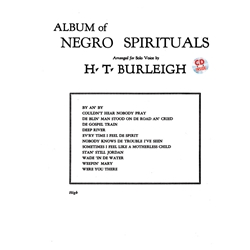 Album of Negro Spirituals Voice High Voice