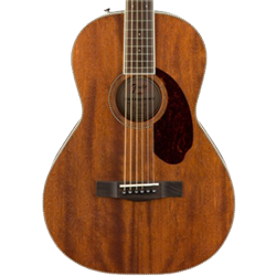 Fender Acoustic Electric Parlor Guitar  All-Mahogany  PM-2