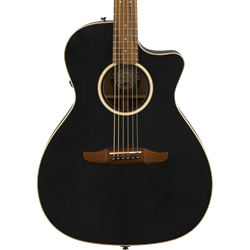 Fender 0970843106 Newporter Special Acoustic Electric Guitar with Bag