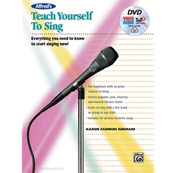 Alfred's Teach Yourself to Sing Voice