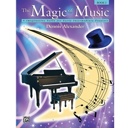 Alexander The Magic of Music Book 2 Piano Solos Book