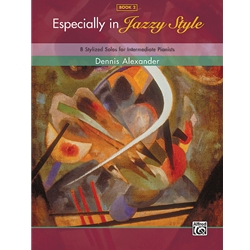 Alexander Especially in Jazzy Style Book 2 Piano Solos Book
