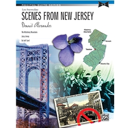 Alexander Scenes from New Jersey Piano Solos Suite