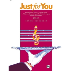 Alexander Just for You Book 1 Piano Solos