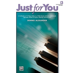 Alexander Just for You Book 3 Piano Solos Book