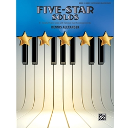 Alexander Five Star Solos Book 1 Piano Solos