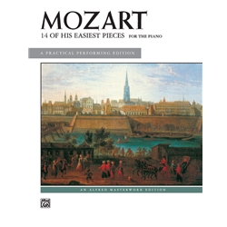 14 of His Easiest Piano Pieces, Mozart