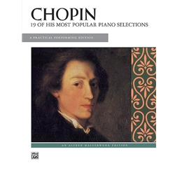 19 of His Most Popular Piano Selections, Chopin
