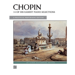 14 of His Easiest Piano Selections, Chopin