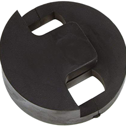 Tourte 3401 Double Bass Mute Round 2-Hole