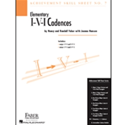 Achievement Skill Sheet I-V-I Cadences
