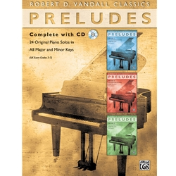 24 Preludes Complt /CD Teaching
