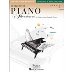 Accelerated Piano Adventures Technique/Artistry 1