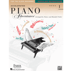 Accelerated Piano Adventures Popular Repertoire 1 CD
