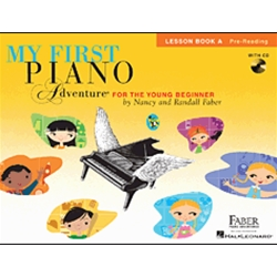 Piano Adventures My First Piano Lesson A /CD