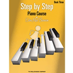 Step By Step Piano Course Book 3