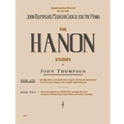 Thompson Hanon Studies Book 1
